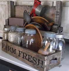 Homespun Happenings: What's on the Top of Your Fridge?
