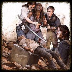 Carl The Walking Dead, Walking Dead Tv Series, Walking Dead Memes, Walking Dead Zombies, Rick And Michonne, Rick Grimes, Glenn Y Maggie, Walking Dead Wallpaper, Daryl Dixon