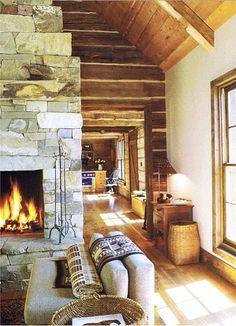 love the wood panelling