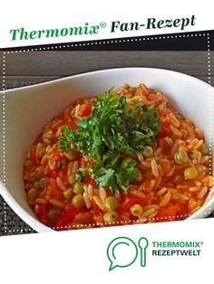 Djuvec-Reis (lecker und wenig Aufwand) von Monser. Ein Thermomix ® Rezept aus der Kategorie Hauptgerichte mit Gemüse auf www.rezeptwelt.de, der Thermomix ® Community.