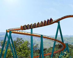 rollercoasters of the world - Google Search