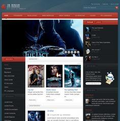 JA Anion - Movie Site Theme