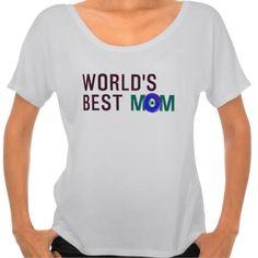 World s Best Mom Evil Eye T-shirt Design