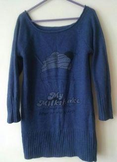 Kup mój przedmiot na #vintedpl http://www.vinted.pl/damska-odziez/dlugie-swetry/17325770-bershka-dlugi-sweter-tunika