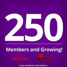 We hit 250 Members on our Official Facebook Group this week and thanks for your unconditional love towards us <3