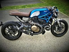 Ducati Monster 1200 Cafe Racer #motorcycles #caferacer #motos | caferacerpasion.com