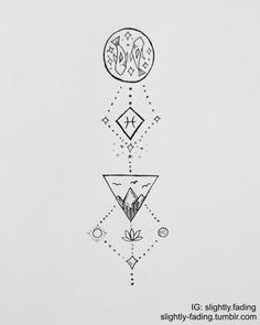 Pisces Zodiac Tattoo Ideas