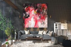 Large Abstract wall art,Original Abstract wall art,acrylic abstract,colorful art oil,abstract wall art,textures painting FY0068