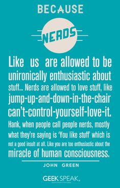 """""""Nerds"""" 