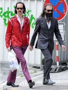 You'll never be this cool - Nick Cave & Warren Ellis, two of the greatest music collaborators on earth ❤️
