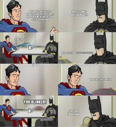Batman vs. Superman.