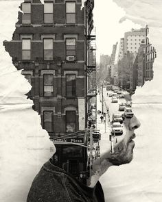Cityscapes Portraits by Andrea Costantini.