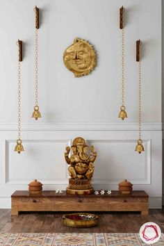 Wooden Temple Ideas for Mandir Design for Home decoration ideas for pooja 5 Soothing Wooden Pooja Room Designs Mandir Design, Pooja Room Door Design, Temple Room, Home Temple, Dublin, Temple Tattoo, Temple Design For Home, Minecraft, Prayer Corner