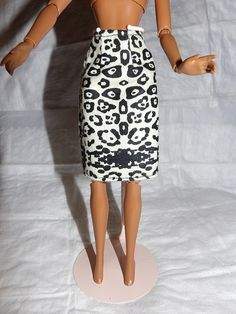 Fashion Doll Coordinates  Black & white by KelleysKreationsLV