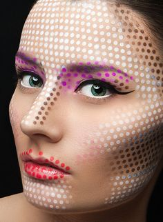 Creative Make up II / Make up by: Shonagh Mua Scott Photography by: Martin Higgs Retouch by: Stefka Pavlova