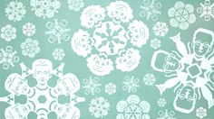 Nobel price winners snowflakes | Symmetry presents a physics twist on the craft of cutting paper snowflakes.