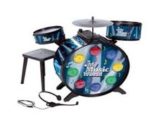 Simba My Music World Electronic L S Drum, Multi Color At Rs.1199