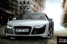 Solidworks CAD of Audi R8!