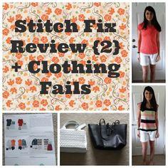 Stitch Fix Review {2} + Clothing Fails