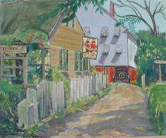 "Pauline Palmer, ""The Clipper"" Oil on canvasboard, 20"" x 24"""