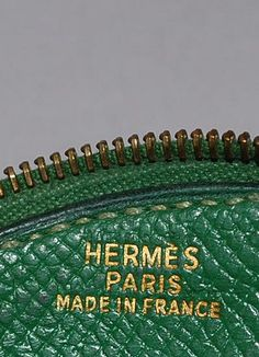 Frutta di Hermes autentica moneta borsa Cherry di PurseAngels