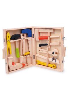 Werkzeugkoffer Lino Kinder Werkzeug Koffer Holz Spielzeug Bohrmaschineu2026