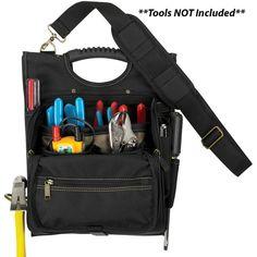 CLC 1509 21 Pocket Professional Electrician's Tool Pouch - https://www.boatpartsforless.com/shop/clc-1509-21-pocket-professional-electricians-tool-pouch/