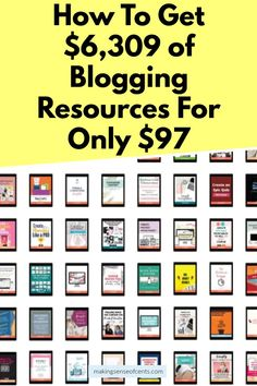 If you want to get started blogging but aren't quite ready to invest all the money, I've got you! Here are some resources you can use that don't cost an arm and a leg. Find out How To Get $6,309 of Blogging Resources For Only $97 by clicking here. Make More Money, Make Money Blogging, Creating A Newsletter, New Readers, Pinterest Images, Just Be You, News Blog, Business Tips, How To Start A Blog