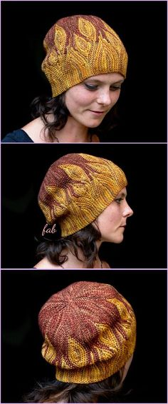 Knit Elemental Azula Beanie Hats Pattern