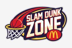 Slam Dunk Zone Logo on Behance