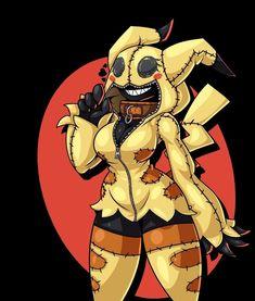 Thicc Anime, Anime Furry, Anime Comics, Otaku Anime, Pokemon Waifu, Pokemon Gijinka, Pokemon Funny, Cool Pokemon, Anime Girl Hot
