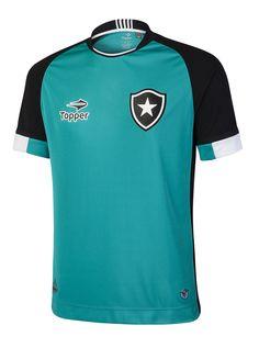 89123d2b4d Camisa para goleiro - jade com preto. Alex Fonseca · Botafogo 2016