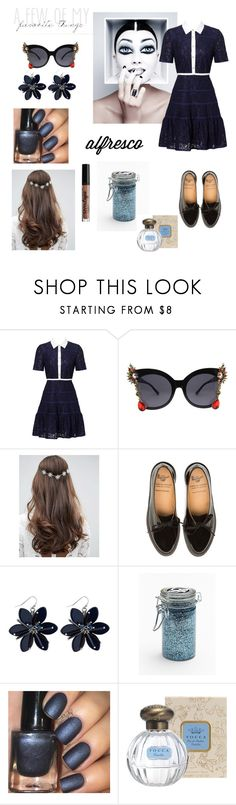 """Sans titre #223"" by ouissal-lahouarii ❤ liked on Polyvore featuring Draper James, ASOS, Major Moonshine and NYX"
