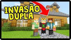 INVADI O MUNDO DA INSCRITA E O AUTHENTICGAMES APARECEU LÁ! (Minecraft)