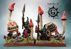 Night Goblin Unit Fillers for orcs and goblins warhammer fantasy but not 40k    war hammer    wargaming