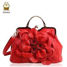bb353fab47da Beibaobao женские сумки для женщин Сумки кожа Сумки брендов Женская сумка  Bolsas Национальный стиль цветок клатч