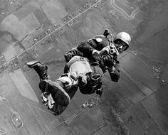>WW2 paratrooper- wow I've never seen this picture before. shockingly brilliant