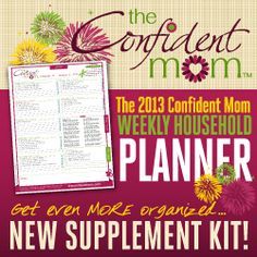 Grab a DISCOUNT off of this amazing household planner at the MOB Society! Plan for 2013!