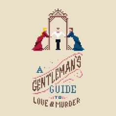 Check out this awesome 'A+Gentleman%27s+Guide+to+Love+and+Murder' design on TeePublic! http://tee.pub/lic/9q-VJb789GI