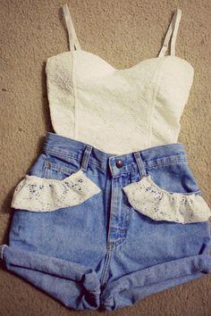 Vintagey | Lace.