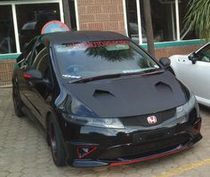 Honda civic Type R - Snake Eyes  #FN2 My Joy :)
