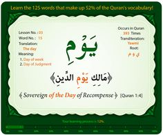 WORDS 13, 14, and 15 - Understand Quran Academy