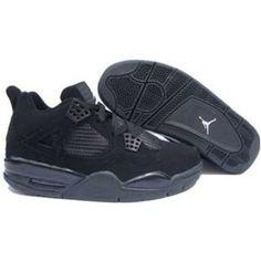 official photos 52847 46bfd http   www.anike4u.com  Air Jordan Retro 4 Black 308497 · Nike ...