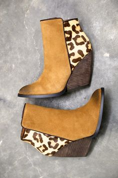 Chatter Bootie By Very Volatile - Cheetah from The Rage