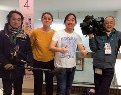 We got interviewed by NHK (one of the main TV channels in Japan) about Nakano and Toys - obviously we took our opportunity to mention our T-Shirt which will go on sale soon :) #Nakano #tokyo #toys #manga #anime #WestostCartoonLovers #中野 #東京 #漫画 #mandarake #まんだらけ #otaku #NHK #漫画