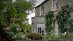 The exterior of Crawley House is a house in Bampton, Oxfordshire and the interiors were shot in Hall Place in Beaconsfield, Buckinghamshire.  Crawley House - Downton Abbey Wiki