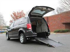 2012 Dodge Grand Caravan Crew Handicap Accessible Wheelchair Van