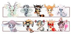 [CLOSED] ADOPT AUCTION 29 - no human set by Piffi-adoptables on deviantART