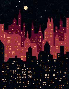 Big City Night Lights (Benjamin Bay)