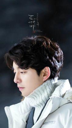 Gong Yoo in Goblin Asian Actors, Korean Actors, Korean Dramas, Gong Yoo Goblin Wallpaper, Goblin Korean Drama, Goong Yoo, Goblin Gong Yoo, Goblin Kdrama, Kwon Hyuk